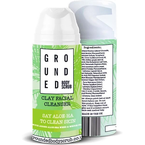 Grounded näopuhastusvahend saviga