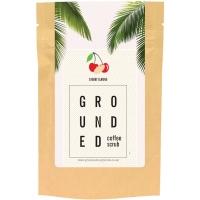 Grounded kirsi ja mandliga kehakoorija