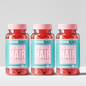 Hairburst Hearts närimispastillid 3 kuud