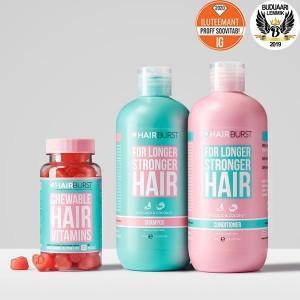 Hairburst Hearts ja šampoon&palsam komplekt