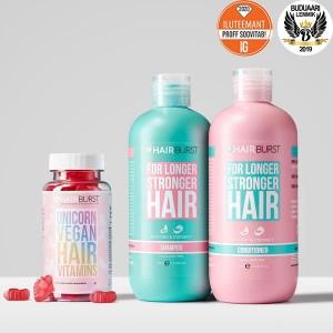 Hairburst Unicorn VEGAN ja šampoon&palsam komplekt