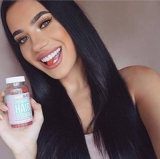 Hairburst Hearts hair growth vitamins 3 months