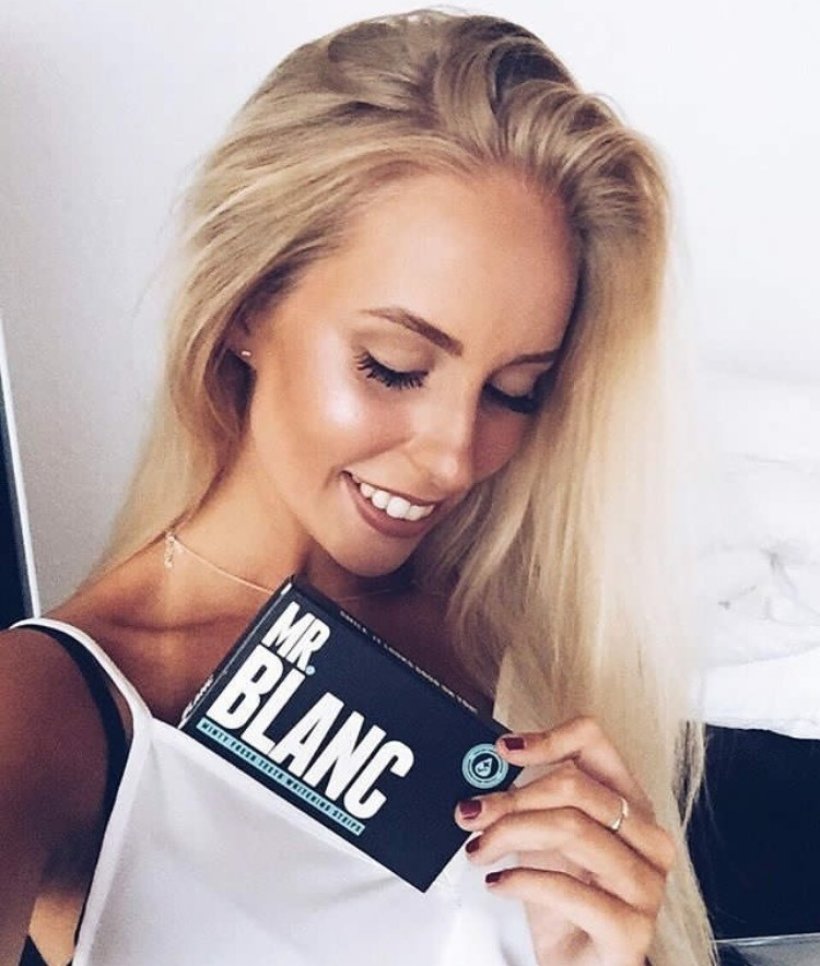 Mr Blanc Teeth whitening strips (28 pcs)