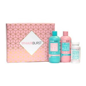 Hairburst kapsulu un šampūna & kondicioniera komplekts