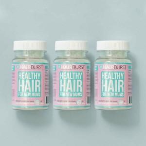 Hairburst Mums (mātēm) matu augšanas vitamīni 3 mēnešiem