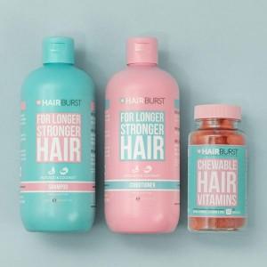 Hairburst Hearts un šampūna & kondicioniera komplekts