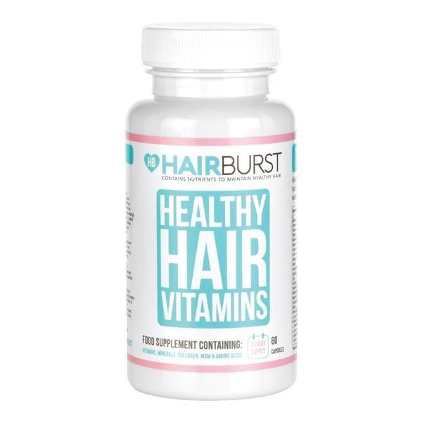 Hairburst plaukų augimą skatinantys vitaminai (1 mėnesiui)