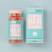 Hairburst Hearts plaukų augimą skatinantys vitaminai (1 mėnesiui)