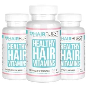 Hairburst plaukų augimą skatinantys vitaminai (3 mėnesiams)