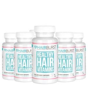 Hairburst plaukų augimą skatinantys vitaminai (6 mėnesiams)