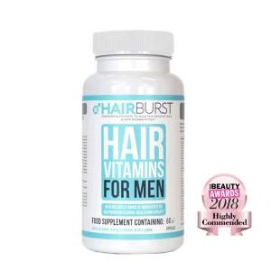 Hairburst plaukų augimą vitaminai skatinantys VYRAMS (1 mėnesiui)