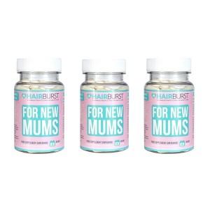 Hairburst Mums (mamoms) vitaminai plaukams (3 mėnesiams)